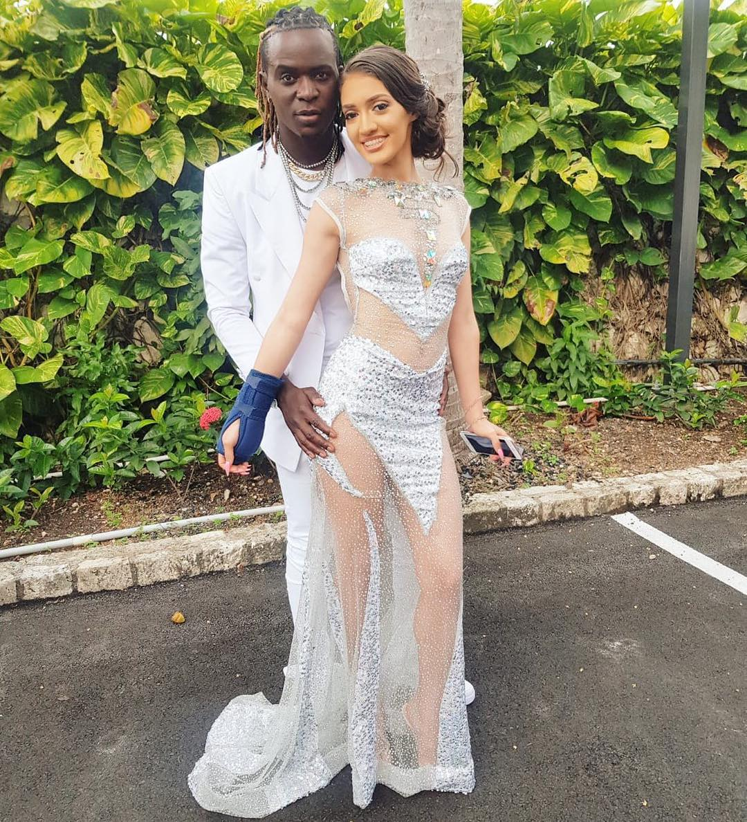 Willy Paul and Samantha J